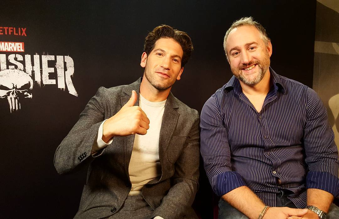 Press Coverage: Jon Bernthal & Steve Lightfoot Talk The Punisher on AlloCine Live Interview